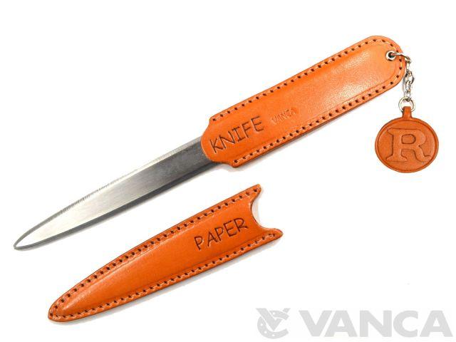 R イニシャル ペーパーナイフ VANCA
