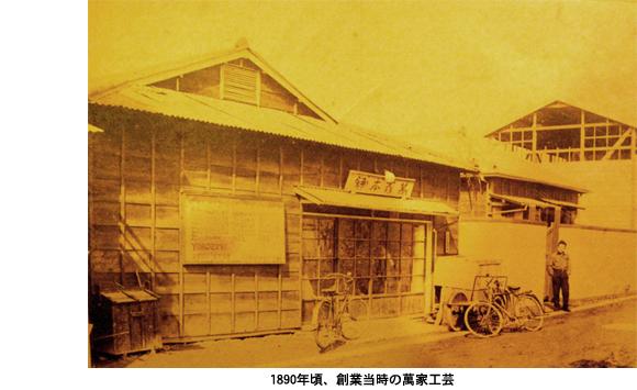 萬家工芸(1890年創業当時のバンカクラフト)
